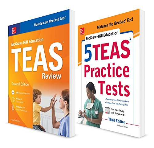 McGraw-Hill Education TEAS 2-Book Value Pack, Second Edition