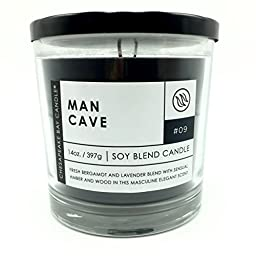Chesapeake Bay Man Cave Soy Blend Scented Candle