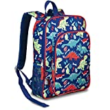 LONECONE Kids School Backpack for Boys and Girls - Sized for Kindergarten, Preschool - Pack-O-Saurus