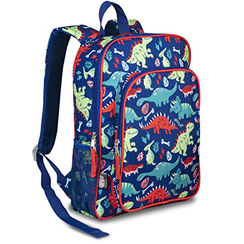 LONECONE Kids' Preschool and Kindergarten Backpack for Boys and Girls, Pack-O-Saurus