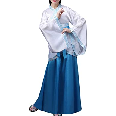 Gtagain Ropa Mujer Traje Tang - Hanfu Vestido Chino Antiguo ...
