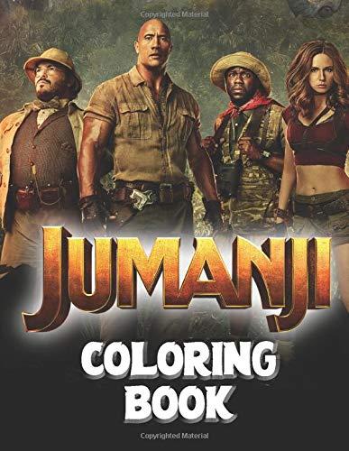Jumanji Coloring Book Jumanji Movie Coloring Books For Adults And Fans Walker Paul 9798634789880 Amazon Com Books