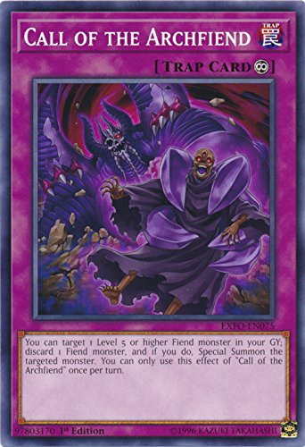 Call of the Archfiend - EXFO-EN075 - Common - 1st Edition - Extreme Force (1st Edition)