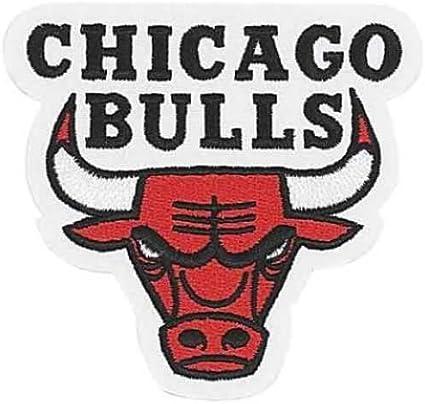 Amazon Com Chicago Bulls Nba Logo Patch Sports Fan Sleeve