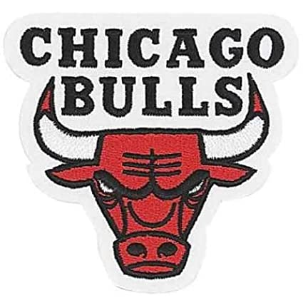 Chicago Bulls NBA Logo Patch