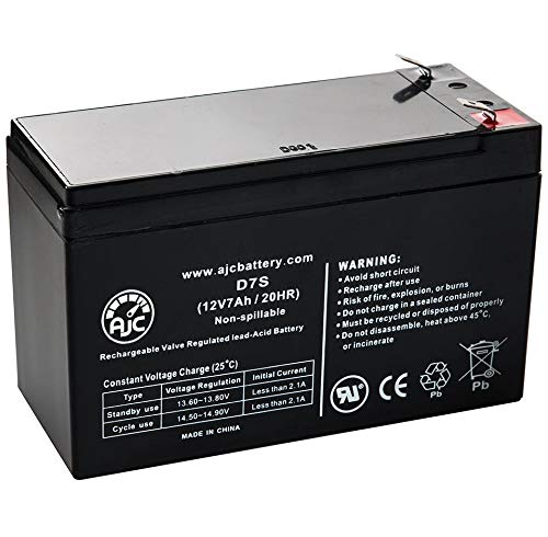 Solex BD127 SB1270 12V 7Ah Alarm Battery - This is an AJC Brand Replacement
