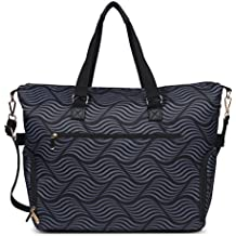 Breast Pump Bag Tote for Work with Staging Mat Sophisticated Design that Suits Workplace Thermally Lined Compartments Perfect Gift for New Moms