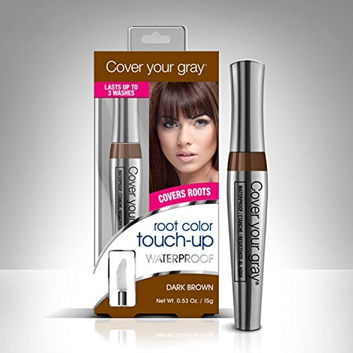 Cover Your Gray Waterproof Root Color Touch Up - Dark Brown (Pack of 2) free shipping