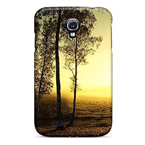 Hot Tpye Sunrise On A Birch Grove Case Cover For Galaxy S4