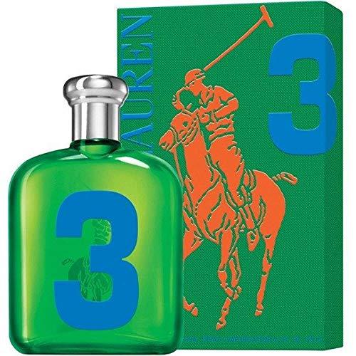 Râlph Laûren The Big Pony Collection #3 Eau De Toilette for Men 4.2 FL. OZ./125 ml. ()