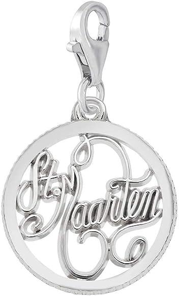Jewelry Adviser Charms 14k I Love Swimming Charm