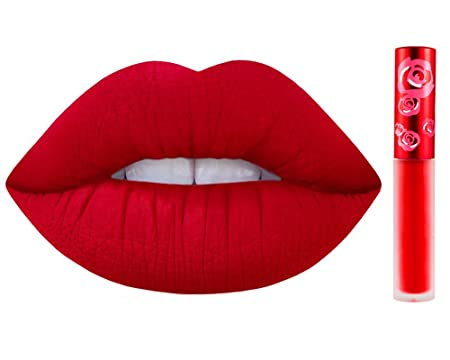 Amazon.com : Lime Crime Velvetines Liquid Matte Lipstick - Red ...