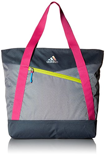 adidas Squad III Tote Bag, One Size, Grey/Deepest Space/S...