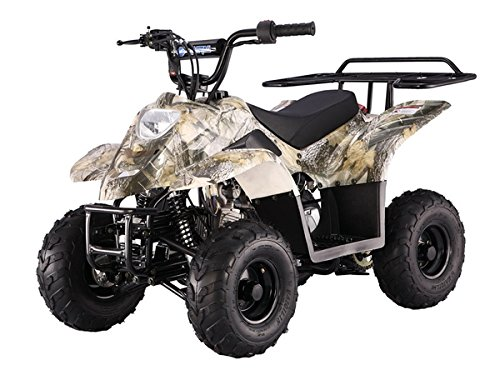110cc Four Wheelers 6'' Tires Atvs, Red