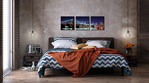 Brooklyn Bridge Canvas With Led Lights - 3