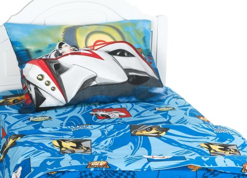 Speed Racer Grand Prix Twin Sheet Set