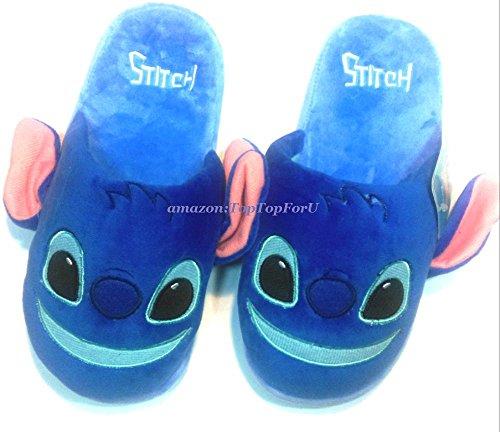 1017ef157631 Authentic Disney Stitch Scrump Adult Soft Warm Slippers Anti-Skid   Amazon.in  Home   Kitchen