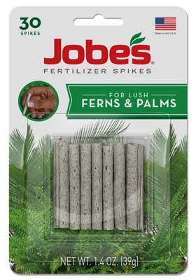 Jobe's 05101 Fern & Palm Plant Spike, 16-2-6, 30-pack