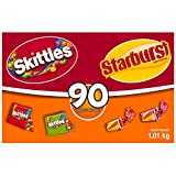 Skittles and Starburst Fun Size, 90-Count