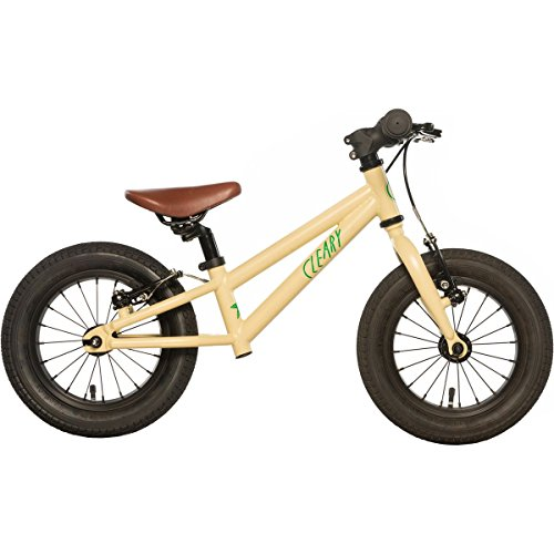 "Cleary Bikes Balance Bike, 12"" Inch No Pedal Bike, Lightweight, Multiple Colors, 2017"