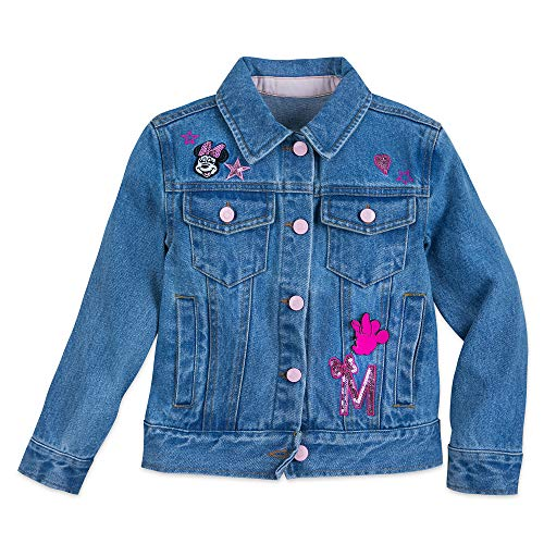 Disney Minnie Mouse Denim Jacket for Kids Size 3 Denim