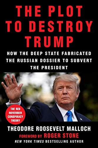 The Plot to Destroy Trump: How the Deep State Fabricated the Russian Dossier to Subvert the President cover