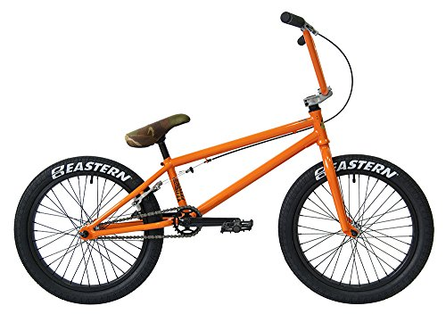 Eastern Bikes Nagas BMX Bicycle, Gloss Orange, 20'/One Size