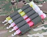 AIRSOFT LIGHT GLOW STICK MOLLE POUCH CHEST RIG BELT PYRO AOR2 HOLDER