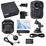 Body Camera,A-Best Infrared Night Vision 1080p Full HD Action Camera Support Motion Detection with GPS Police Body Worn Camera Security Cam+Shoulder Holder 16GB TF card Built in (bodycam-01 16g kit4)