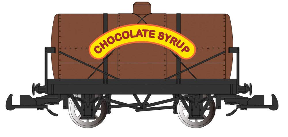 Thomas & Friends Chocolate Syrup Tanker Car - Large G Scale