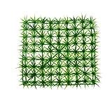 Forever Love Artificial Plastic Lawn Grass Turf Decor for Room Aquarium Fish Tank