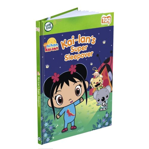 Leapfrog Tag Activity Storybook Ni Hao, Kai - Lan: Kai - Lans Super Sleepover