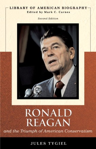Books : Ronald Reagan and the Triumph of American Conservatism (Library of American Biography Series) (2nd Edition)