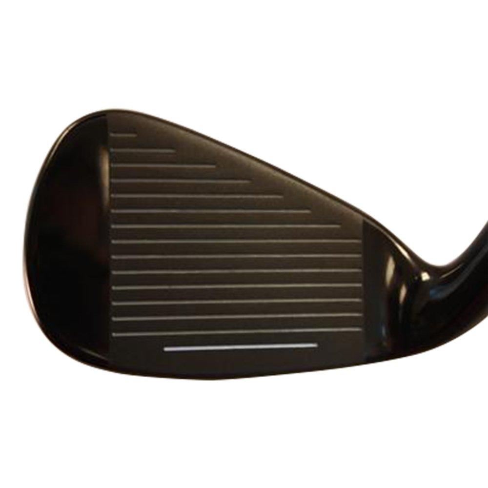 Heater 3.0 Series Black Plasma Golf Iron Set +2 inch over XL Big & Tall Men's 8-Piece Set (4-PW, +AW) Right Handed Regular Flex ''R'' Flex Club (Tall 6'3''+ / +2''Over) with Jumbo Black Pro Velvet Grip