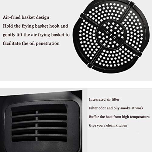 LUONE 4.0L Friteuse à air, Haute capacité et sans Huile friteuses Faible en Gras Multifonctions Friteuse électrique minuterie température réglable de Commande Hot Air friteuses