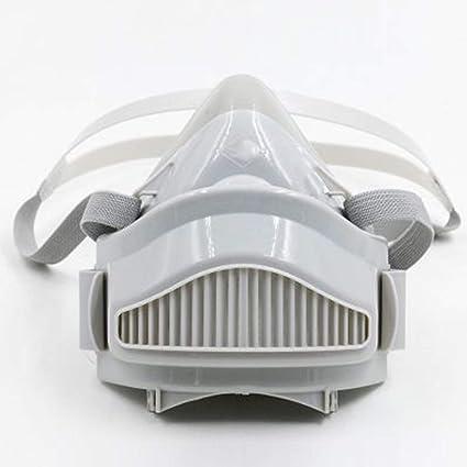 Cradifisho XQ - Máscara Antipolvo y antiempañamiento y respirador de Humo (antiácaros, Reutilizable,