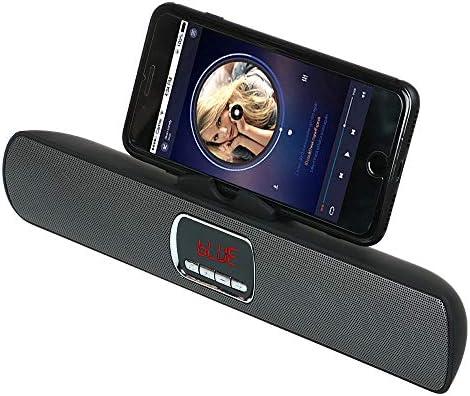 KawKaw - Altavoz Bluetooth con micrófono y Soporte para Smartphone ...