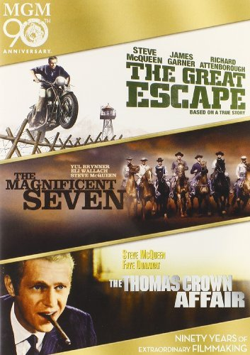The Great Escape/ The Magnificent Seven/ The Thomas Crown Affair Great Dvd