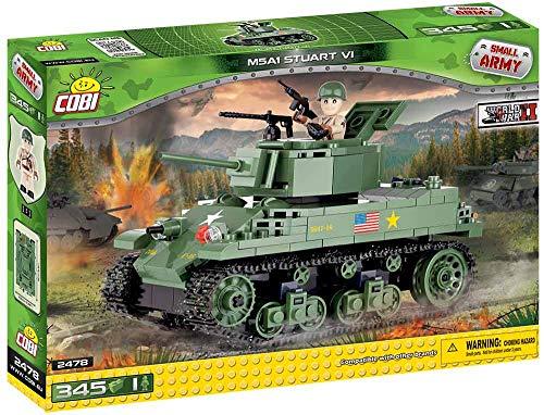 (COBI Small Army M5A1 Stuart VI Tank)