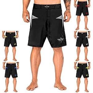 Elite Sports Star Series Fight Shorts - UFC, MMA, BJJ, Muay Thai, WOD, No-GI, Kickboxing, Boxing Shorts 2