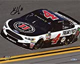 "Kevin Harvick Autographed 2017 #4 Jimmy John's Car 8"" x 10"" Photograph - Fanatics Authentic Certified"