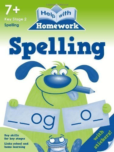 Download Help With Homework 7+: Spelling by Nina Filipek (2011) ebook