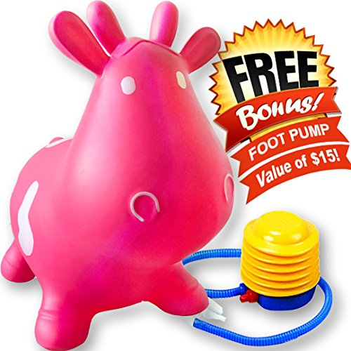 Inflatable-Bouncer-Cow-Space-Hopper-Better-than-Rody-Cow