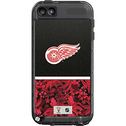 Skin Wings Ipod Red Detroit (NHL Detroit Red Wings LifeProof fre iPod Touch 5th Gen Skin - Detroit Red Wings Retro Tropical Print)