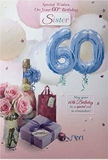 60Th Birthday Card Female Titles Friend Sister Mum Wife Auntie Gran Nan