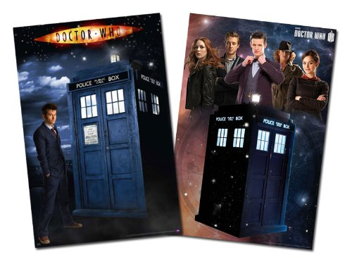 Doctor Who - Glow In The Dark TV Show Poster Set