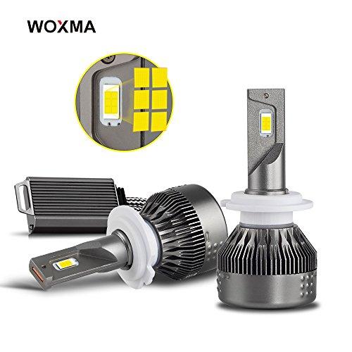 H7 LED Headlight Bulbs Conversion Kit, Advanced Flip Chips/Adjustable Beam-70W 8000LM 6500K-Hi/Lo Beam/Fog Light Bulbs- 1 Year Warranty