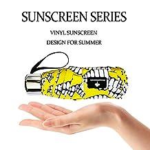 Arrontop - Ultra Mini(7in) Sun Rain Anti-UV Umbrella, Light travel Essentials(7.4oz), Windproof