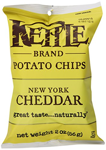 Kettle Brand Potato Chips Caddy, New York Cheddar, 2-Ounce Bags, 6 Count (Kettle Chips 2 Ounce compare prices)