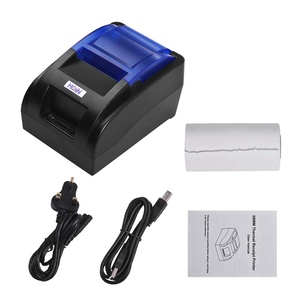 Label Makers Aibecy HOIN Portable 58mm Thermal Receipt Printer with